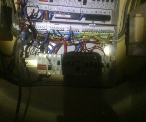 DURING PHOTO: DISTRIBUTION BOARD REPLACEMENT