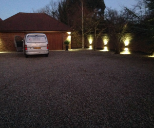 External Lighting at a Domestic Property
