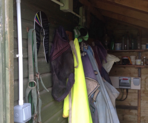 Tack Room electric installation at stable block