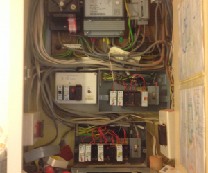 BEFORE PHOTO: DISTRIBUTION BOARD REPLACEMENT