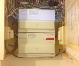 AFTER PHOTO: DISTRIBUTION BOARD REPLACEMENT